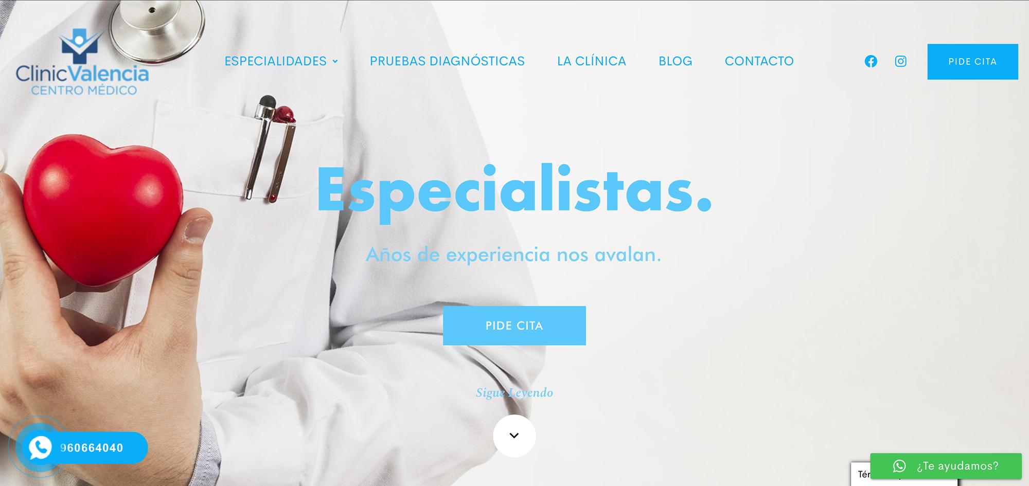 Clinicvalencia Web