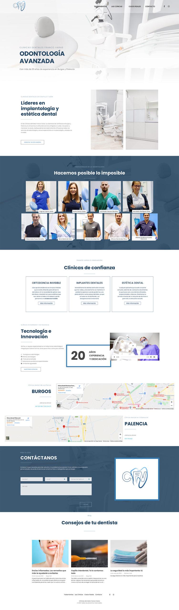 clinica franco varas web