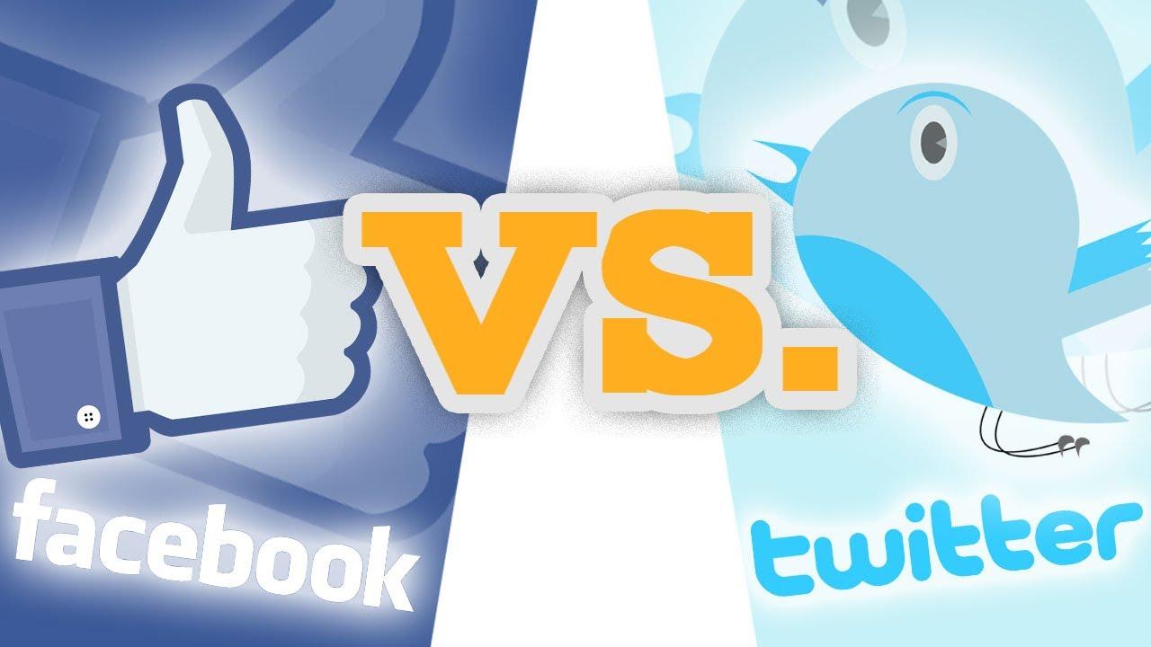 Diferencias facebook twitter